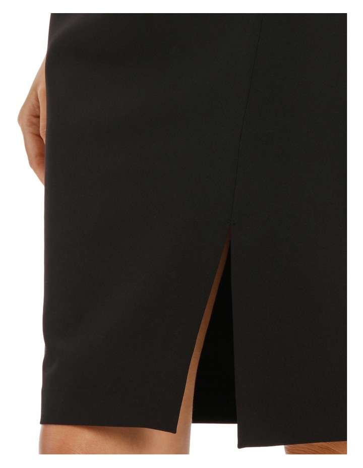 Mock Wrap Pencil Skirt image 4