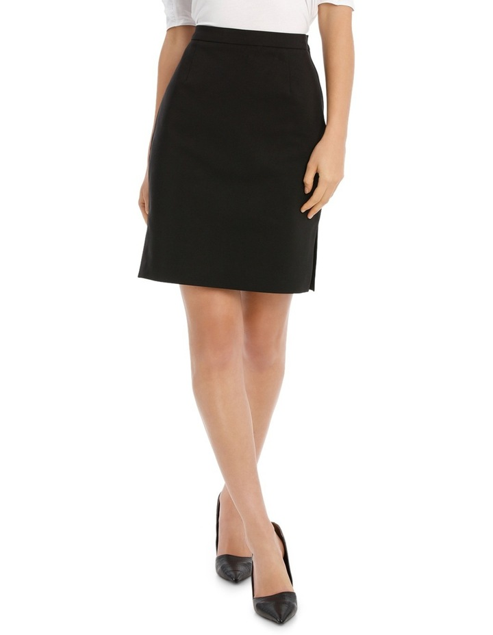 London Pencil Skirt With Side Splits image 1