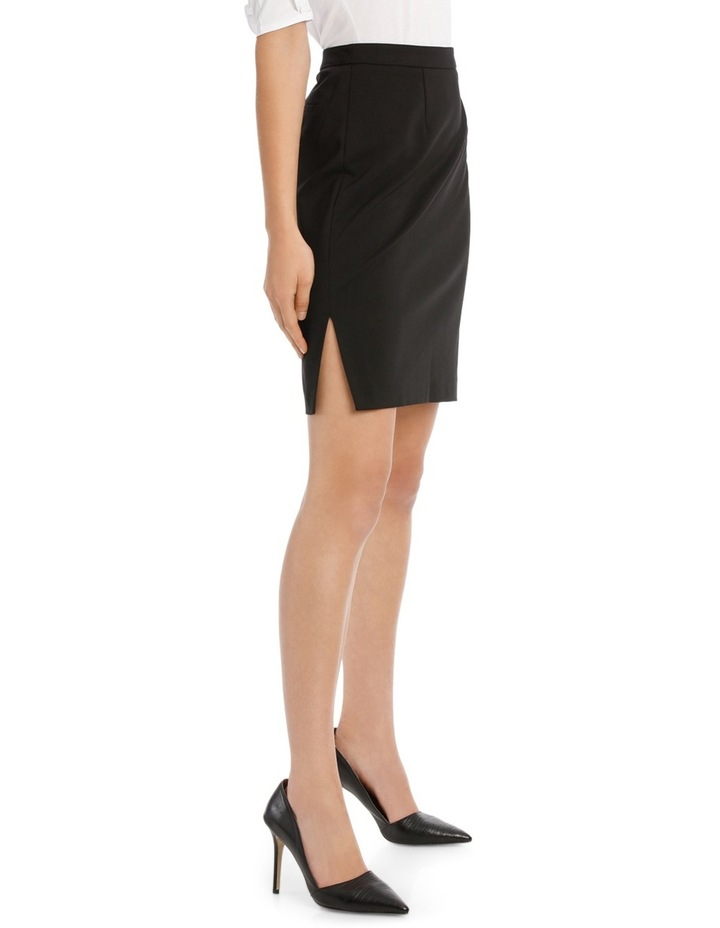 London Pencil Skirt With Side Splits image 2