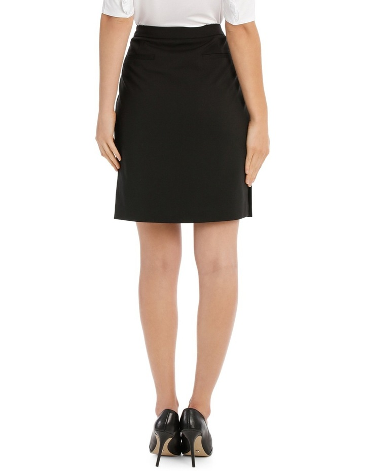 London Pencil Skirt With Side Splits image 3