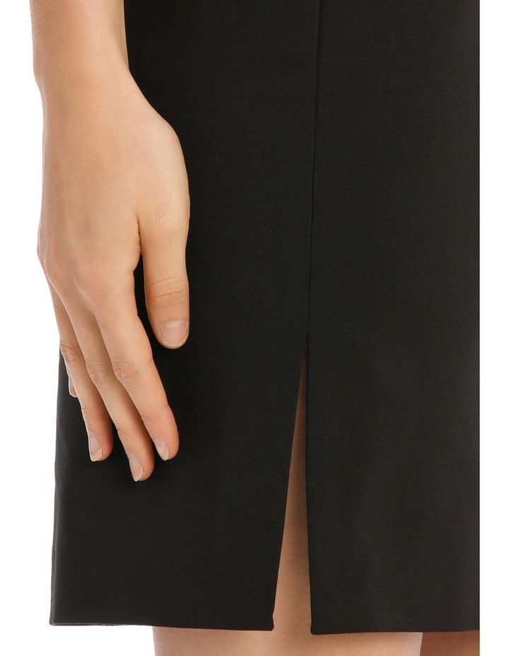 London Pencil Skirt With Side Splits image 4
