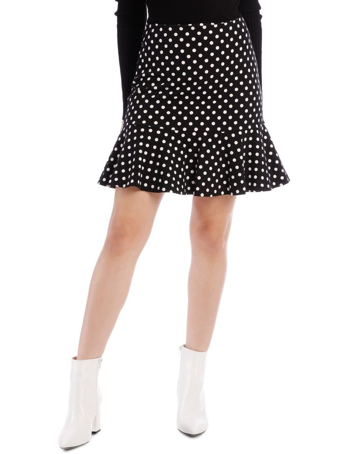 Spot Peplum Skirt image 1