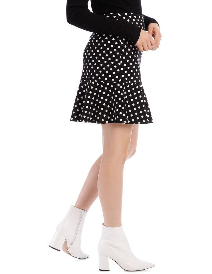 Spot Peplum Skirt image 2