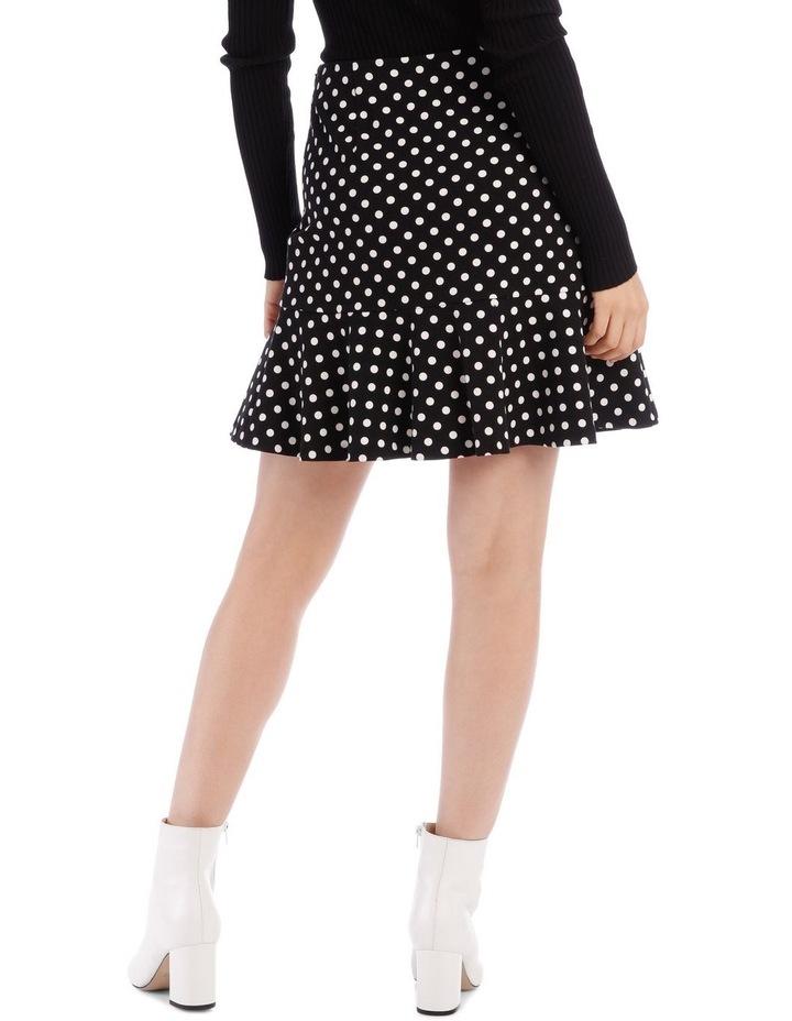 Spot Peplum Skirt image 3