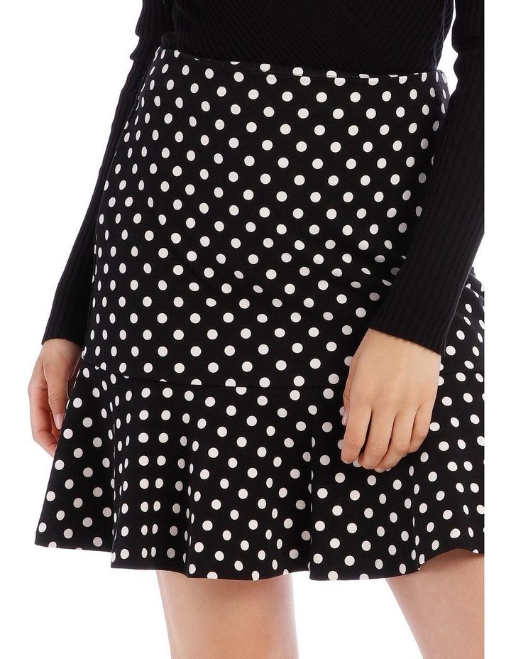 Spot Peplum Skirt image 4