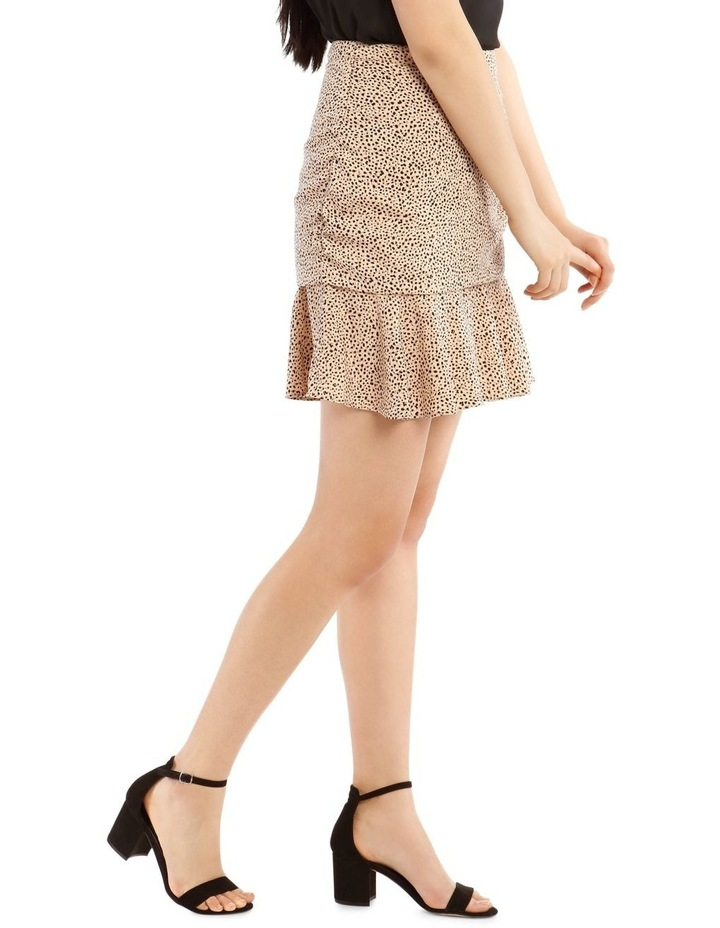 Rouched Flounce Mini Skirt image 2