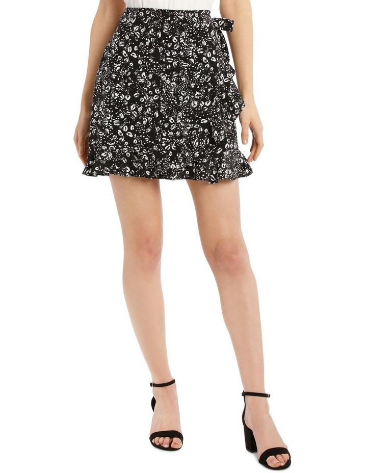 Wrap Frill Mini Skirt image 1