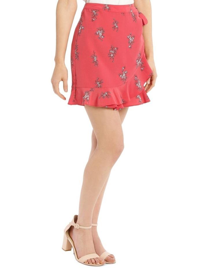 Wrap Frill Mini Skirt image 2