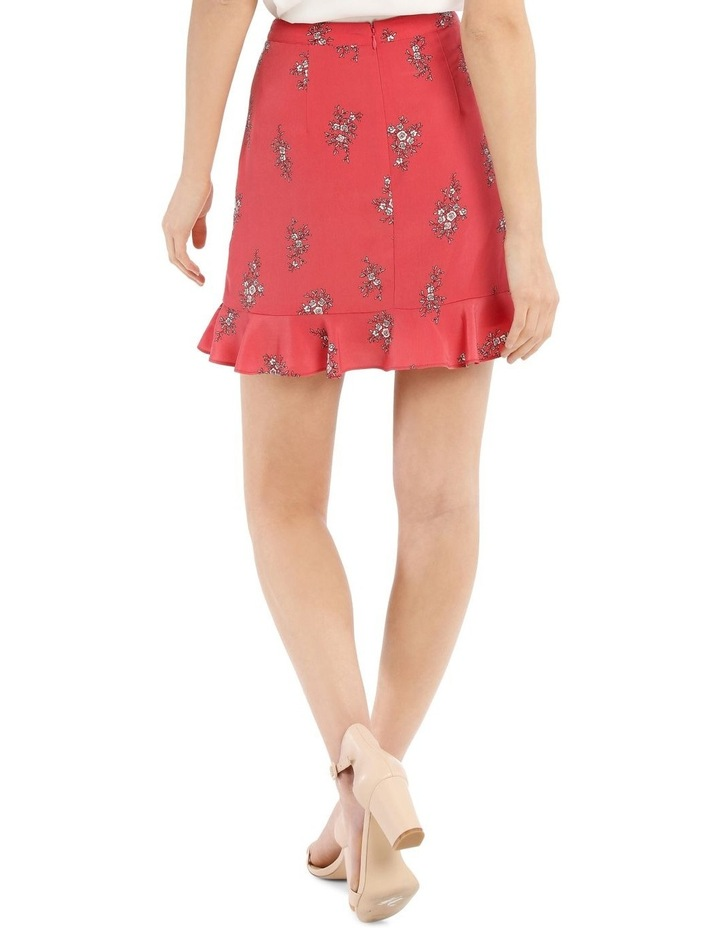 Wrap Frill Mini Skirt image 3