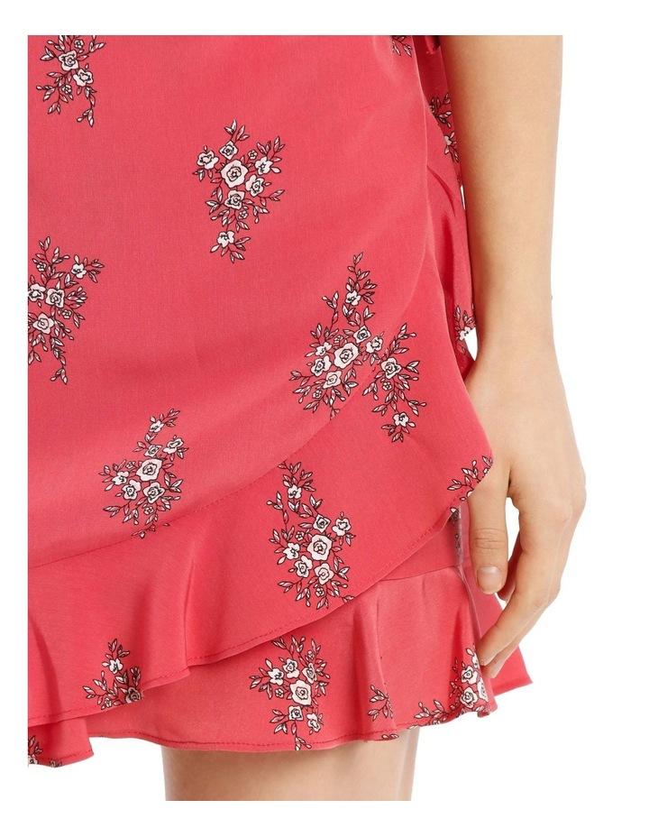 Wrap Frill Mini Skirt image 4
