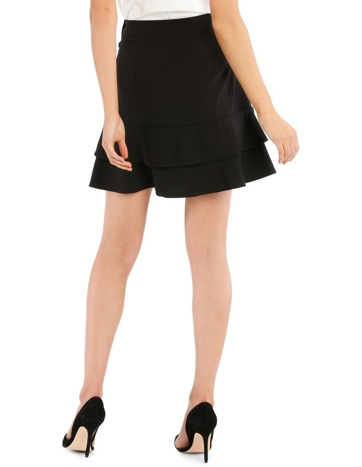 Button Side Tiered Skirt image 3