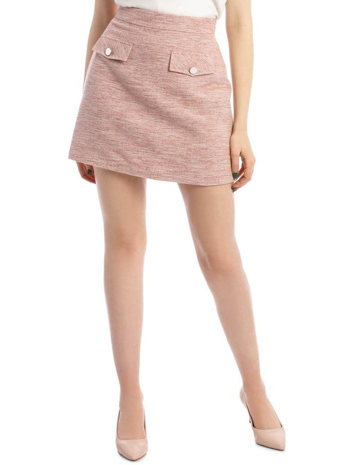 Tweed Mini Skirt image 1