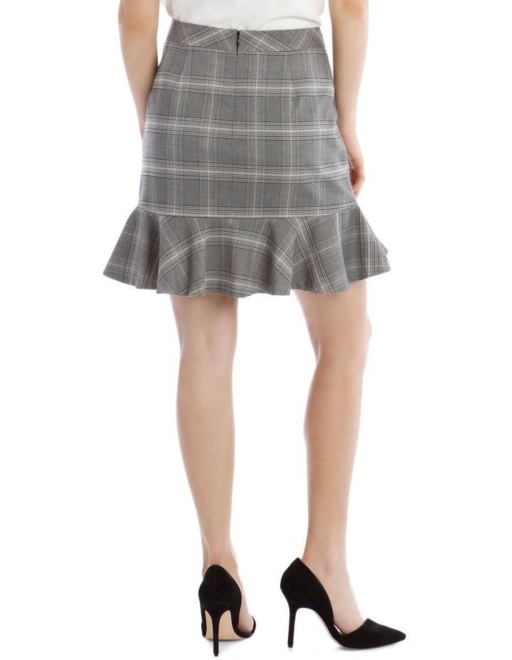 Check Peplum Skirt image 3