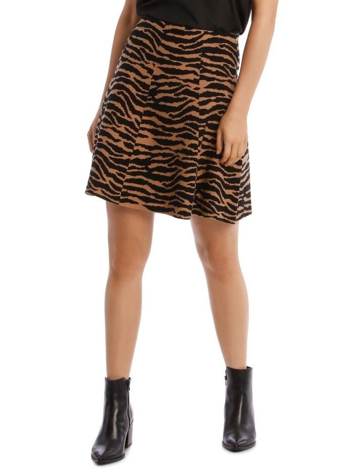 Knitted Mini Skirt image 1