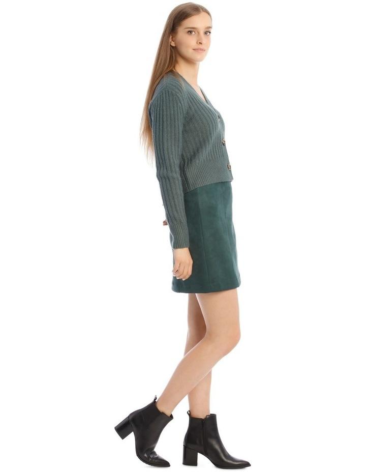 Suedette Mini Skirt image 2