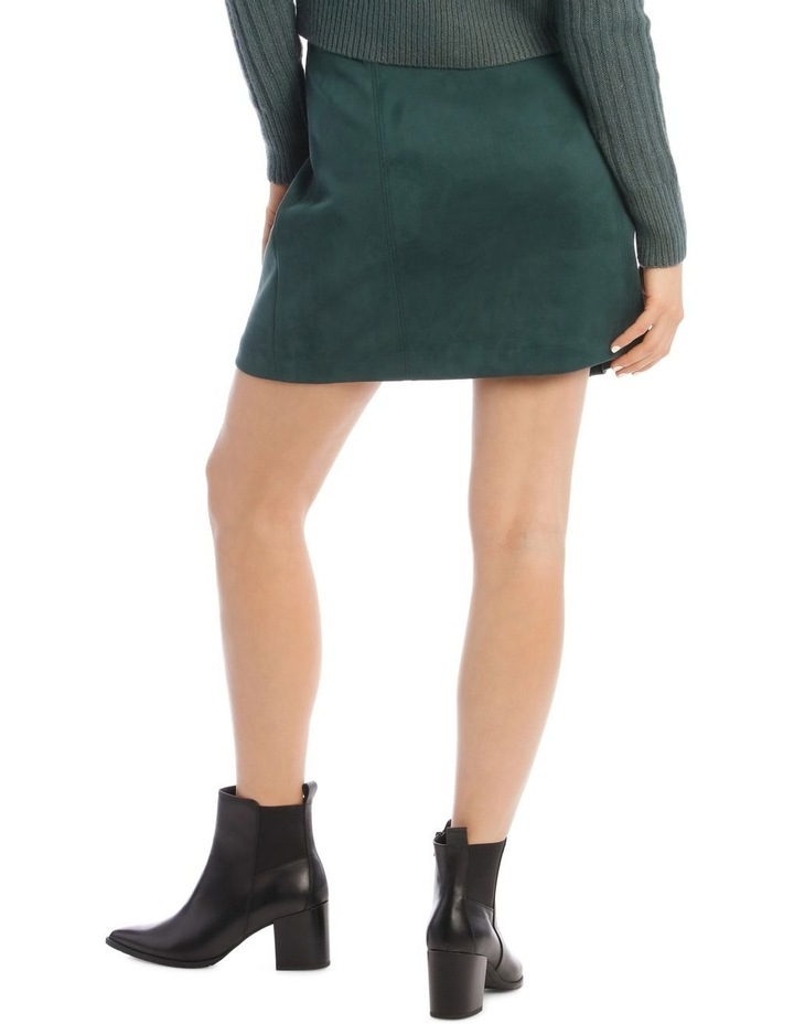 Suedette Mini Skirt image 3