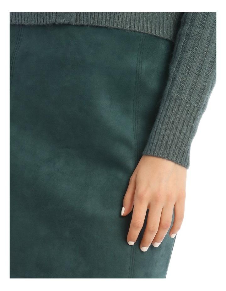 Suedette Mini Skirt image 4