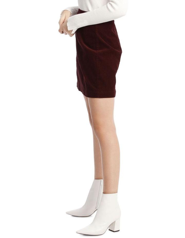Cord Mini Skirt image 2