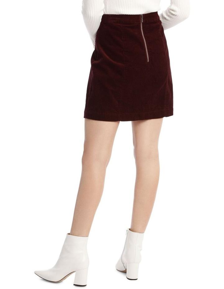 Cord Mini Skirt image 3