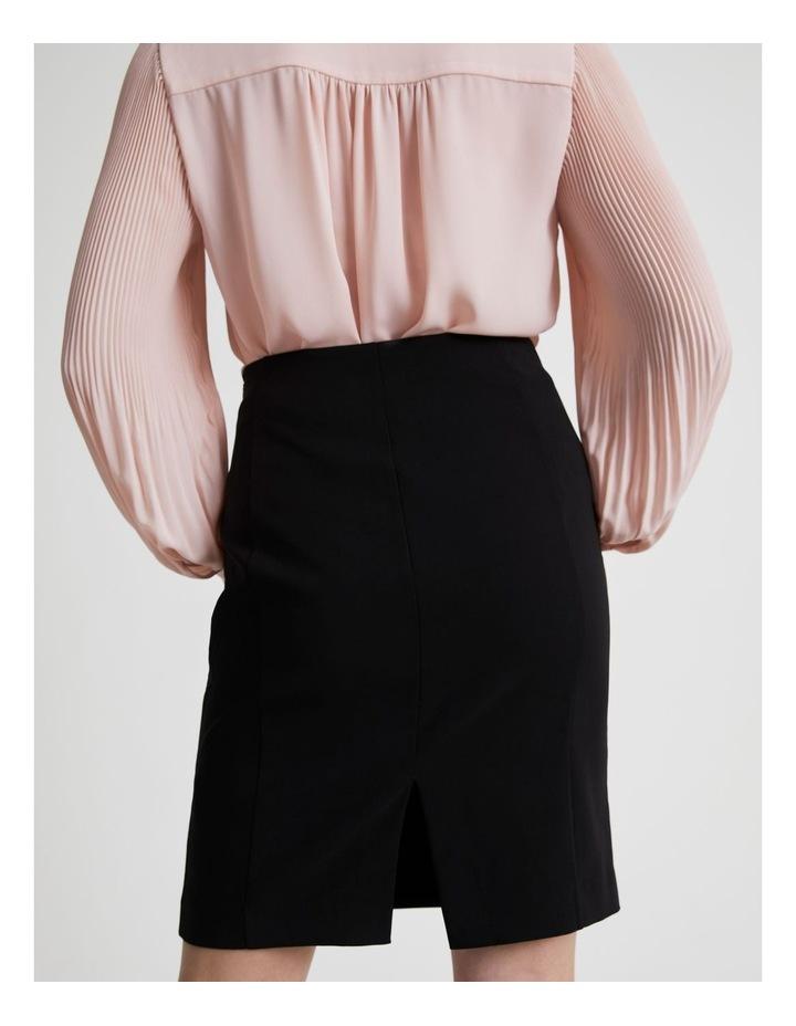 Panelled Detail Pencil Skirt image 4