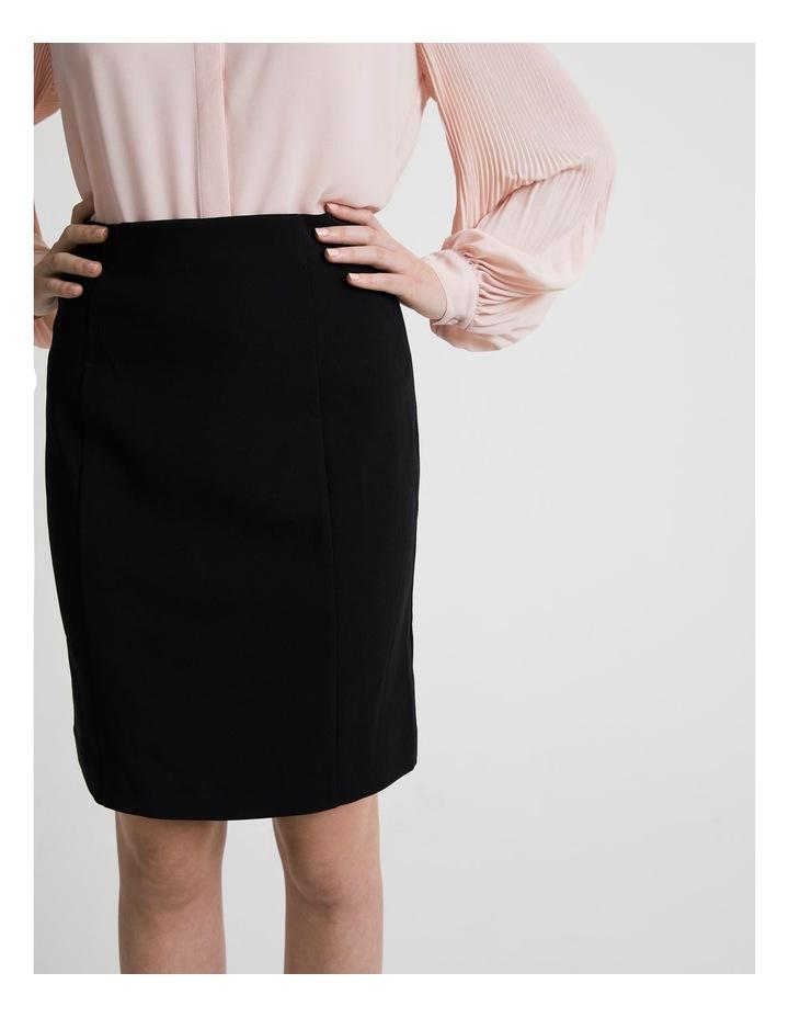 Panelled Detail Pencil Skirt image 5