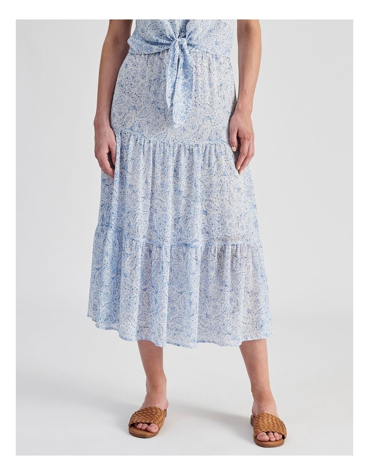 Tiered Maxi Skirt image 1