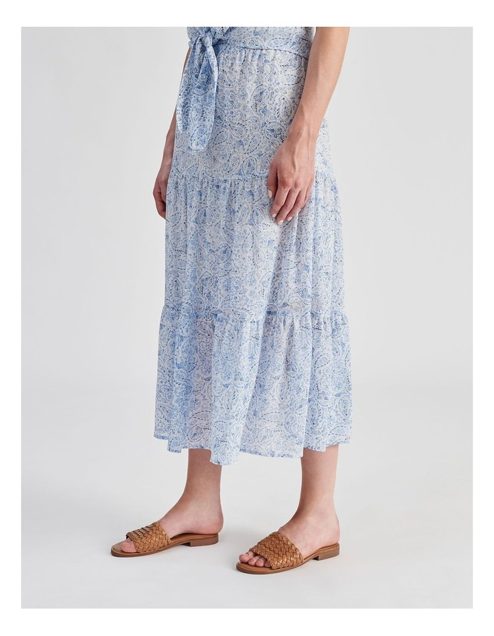 Tiered Maxi Skirt image 3
