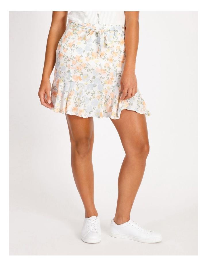 Frill Hem Mini Skirt image 1
