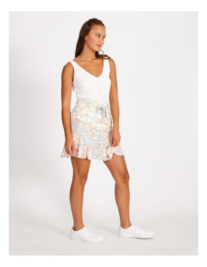 Frill Hem Mini Skirt image 2