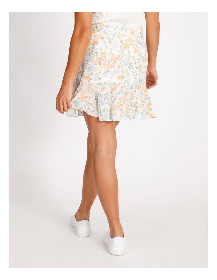 Frill Hem Mini Skirt image 3