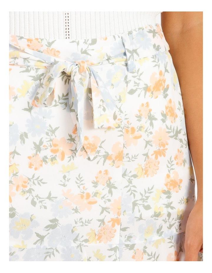 Frill Hem Mini Skirt image 4