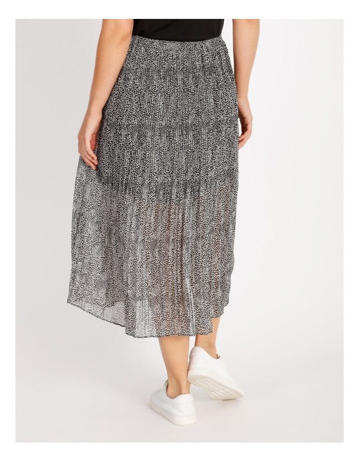 Pleated Midi Skirt image 3