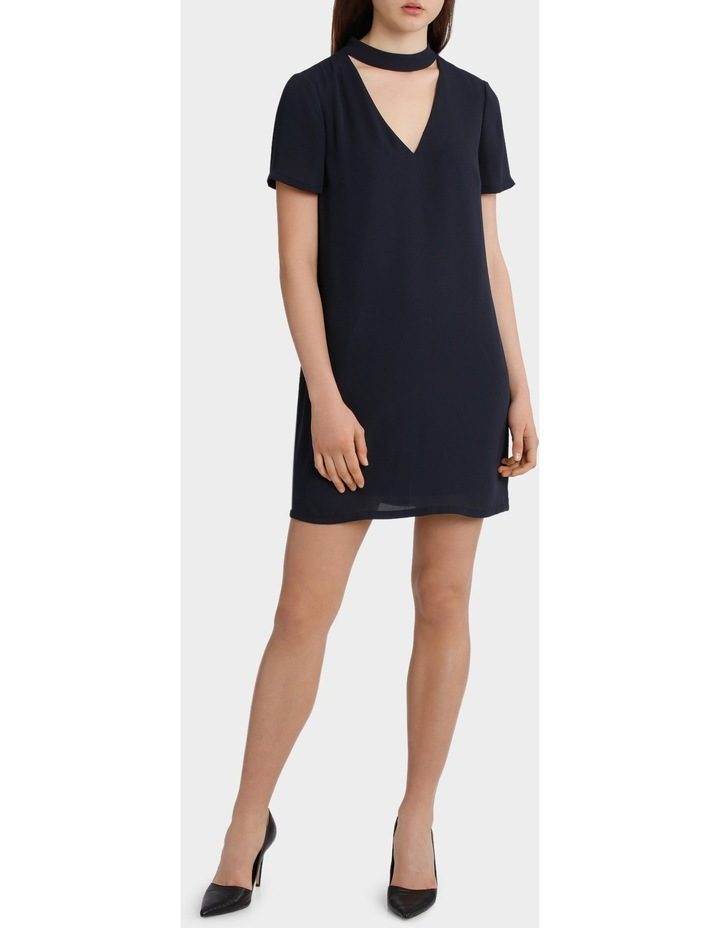 High Neck Shift Dress image 1