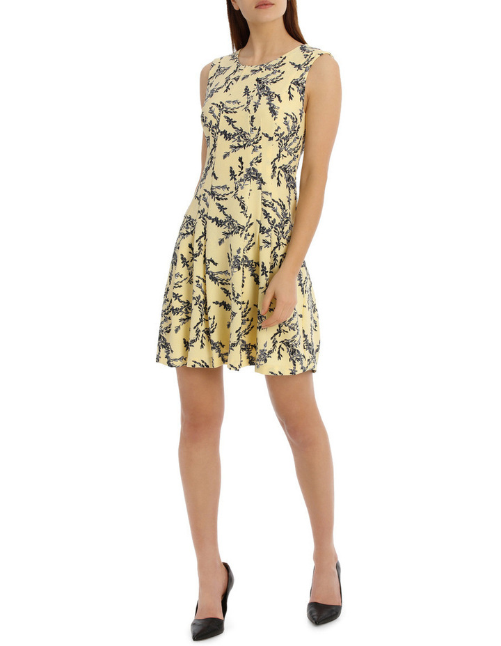 flippy floral dress - willow print image 1