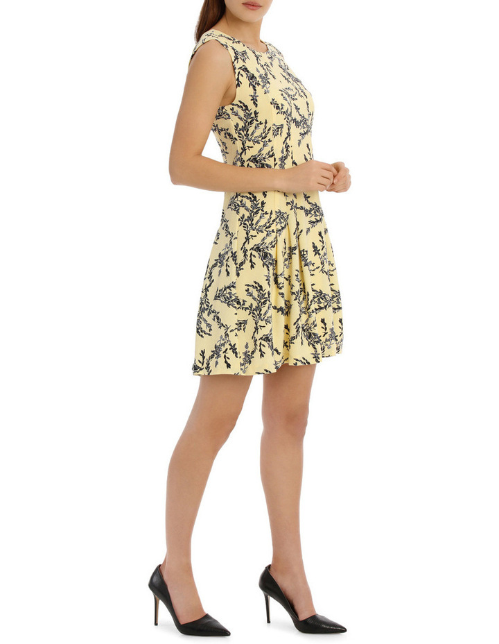 flippy floral dress - willow print image 2