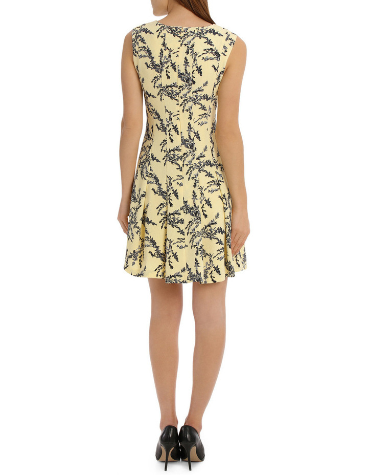 flippy floral dress - willow print image 3