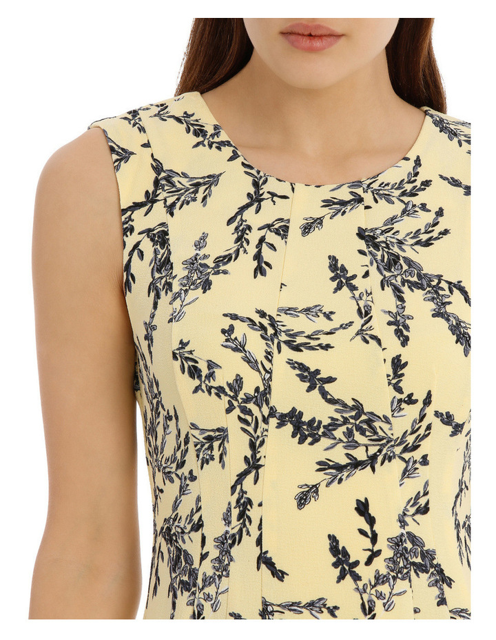 flippy floral dress - willow print image 4
