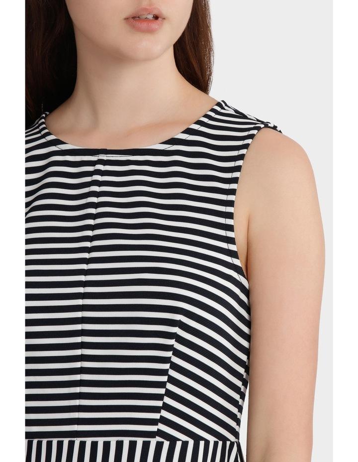 Mixed Stripe Skater Dress image 4