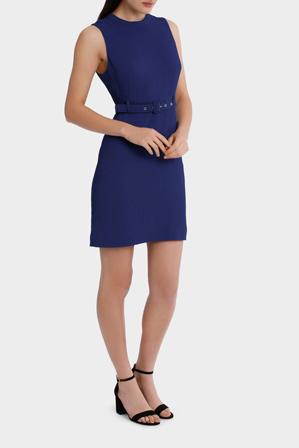 Tokito - belted shift dress
