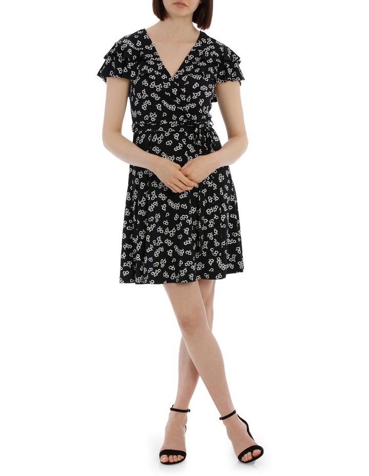 Frill Front Wrap Dress image 1