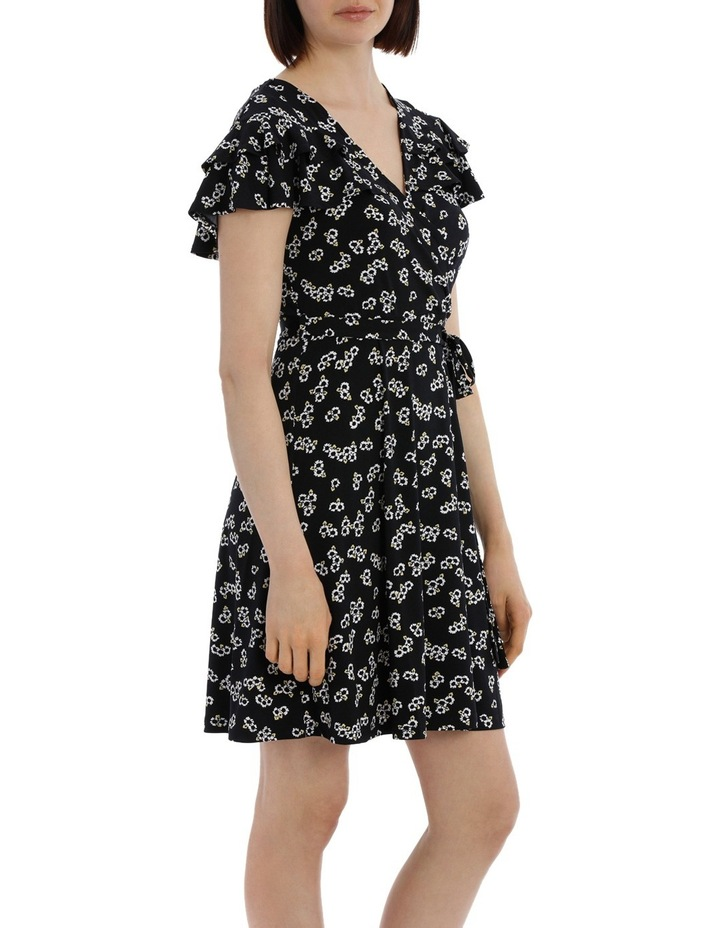 Frill Front Wrap Dress image 2