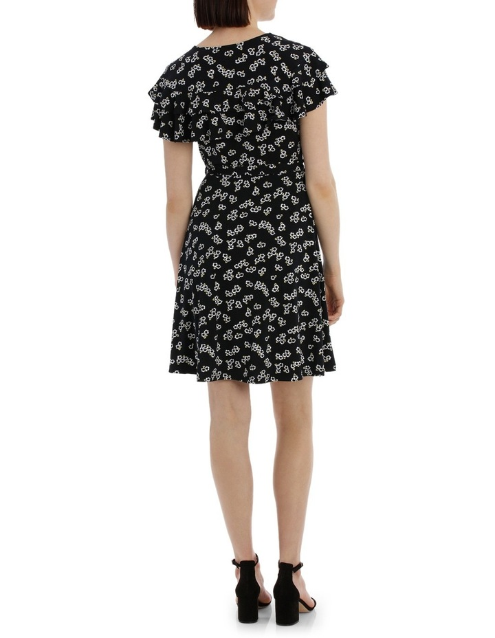 Frill Front Wrap Dress image 3