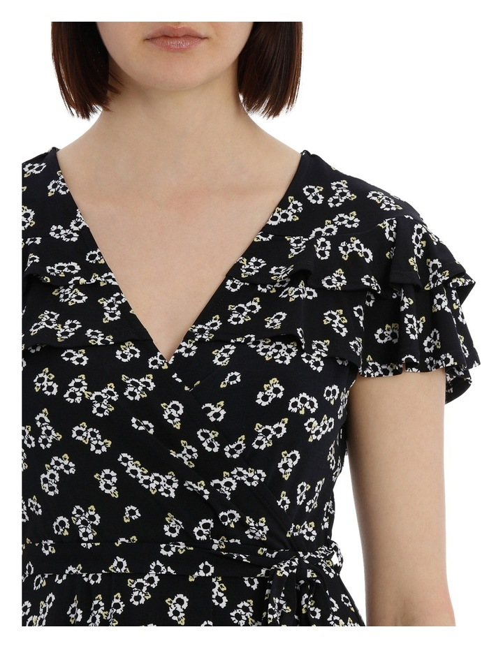 Frill Front Wrap Dress image 4