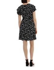 Tokito - Frill Front Wrap Dress