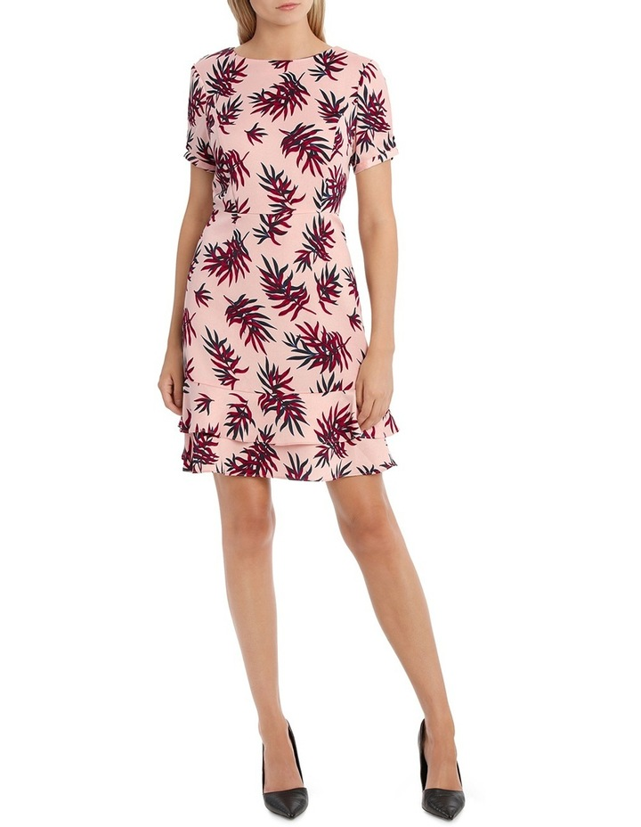 Fit and Flare Dress - Fern Print image 1