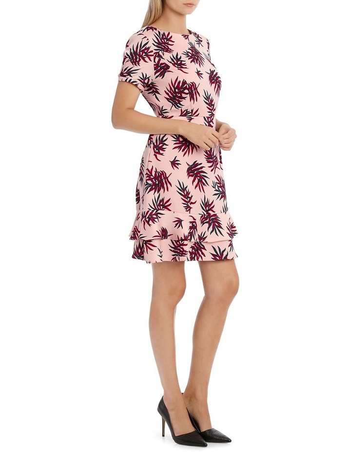 Fit and Flare Dress - Fern Print image 2