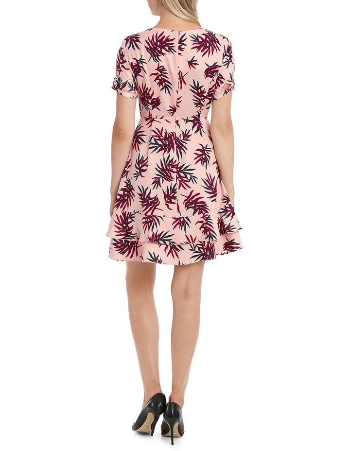 Fit and Flare Dress - Fern Print image 3
