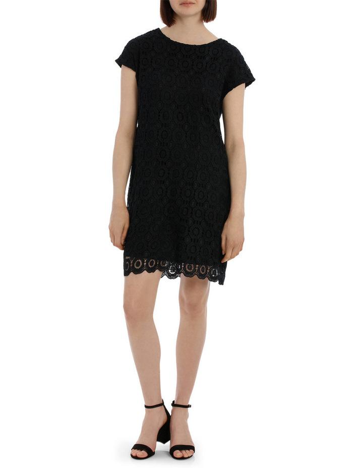 Lace Shift Dress image 1