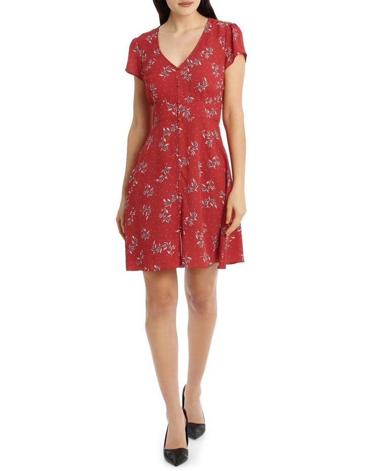 Button Up Tea Dress - Desert Spot Floral image 1