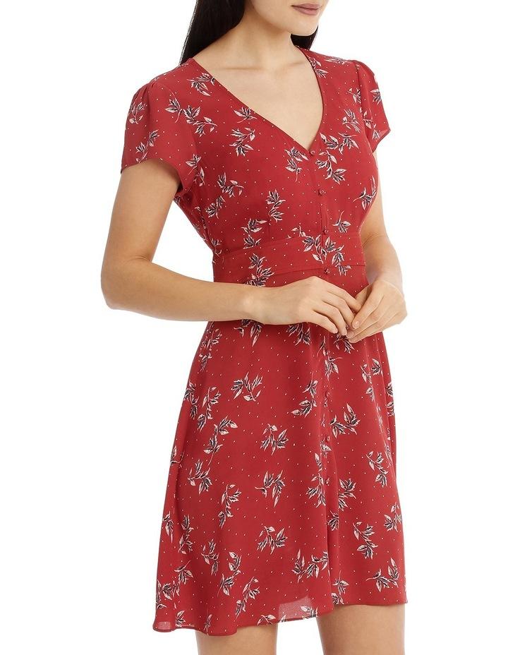 Button Up Tea Dress - Desert Spot Floral image 2